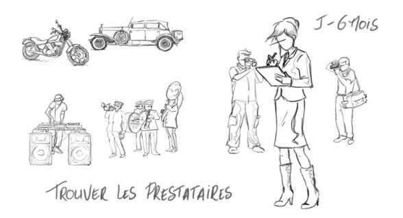 WP : organisateur et décorateur mariage à Paris …