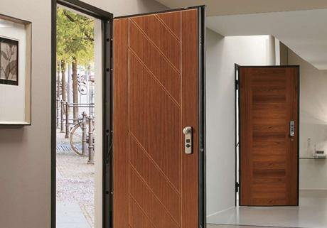 Les Menuiseries de la Vallée peuvent vous fabriquer et vous installer votre porte blindée.
